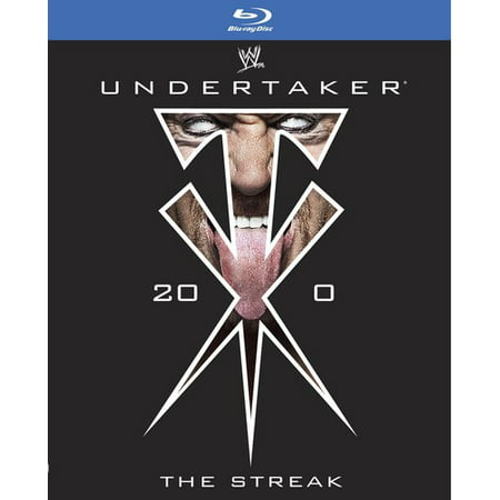 Wwe  Undertaker   The Streak  Blu Ray