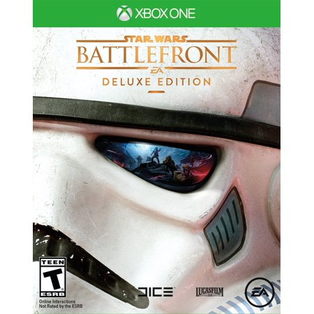 Star Wars Battlefront Deluxe Edition  Xbox One  With Exclusive Trading Disc