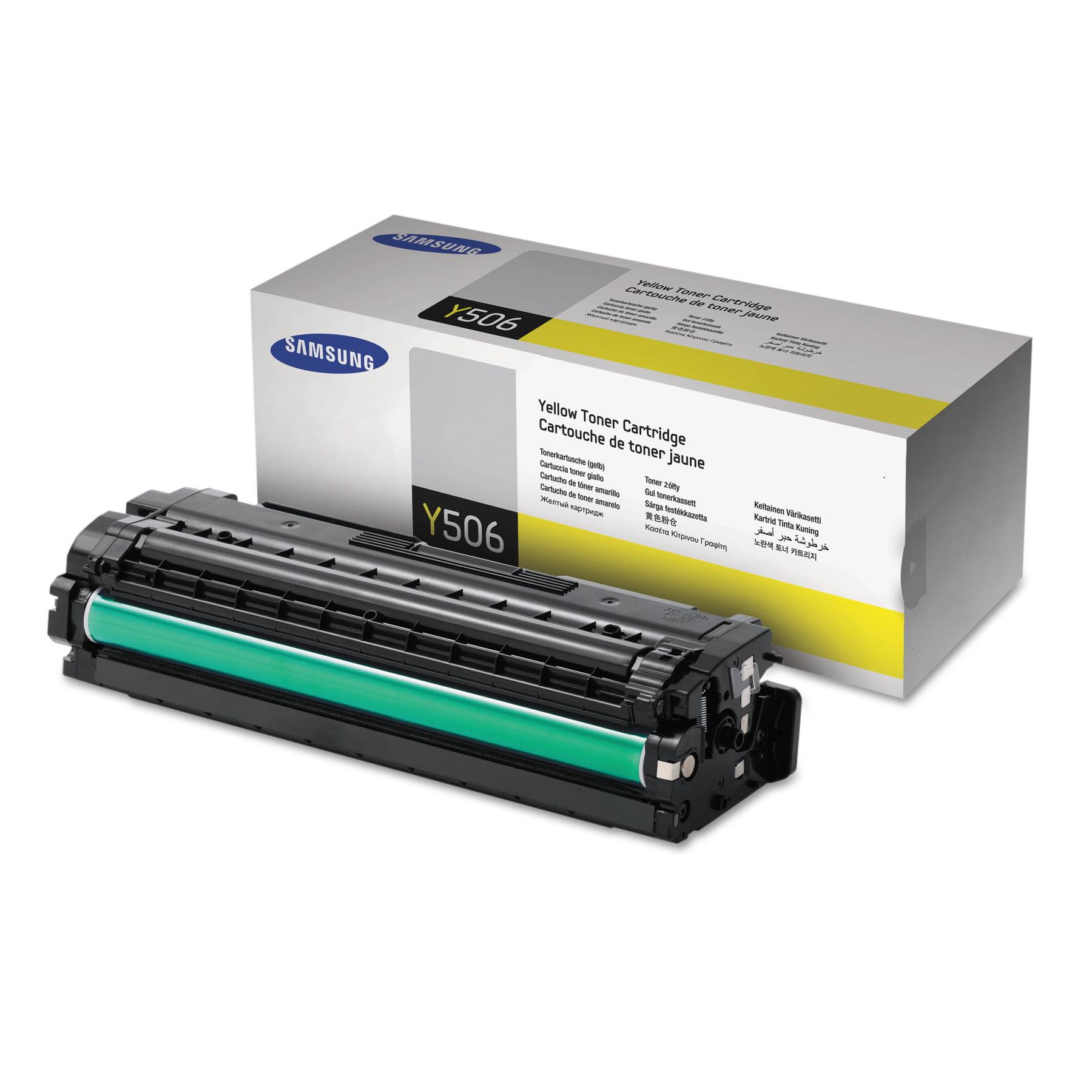 Samsung CLT-Y506S (SU528A) Toner, 1500 Page-Yield, Yellow