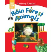 Learning Ladders 1/Soft Cover: Rain Forest Animals (Paperback)