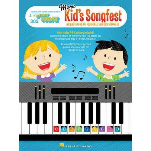 More Kid's Songfest: For Organs, Pianos, Electronic and Digital Instruments