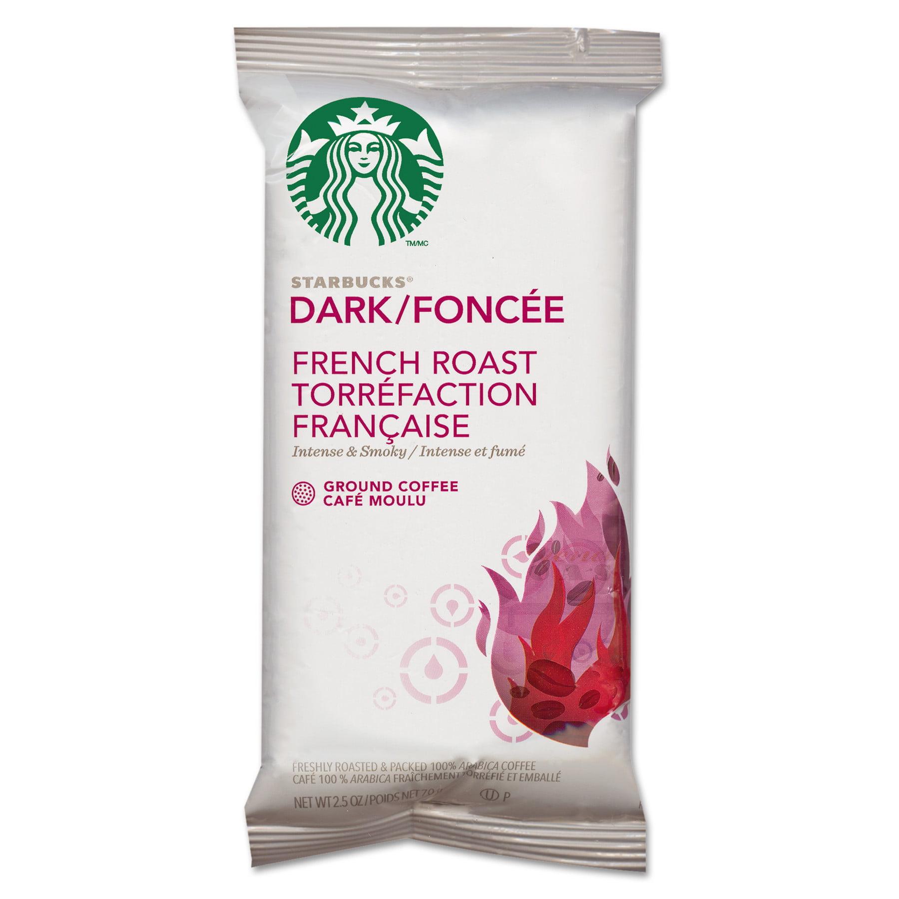 Starbucks Coffee, French Roast, 2.5oz Bag, 18 Bags Box by STARBUCKS COFFEE COMPANY