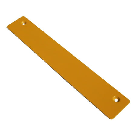 Ryobi BTS21 Table Saw Replacement Throat Plate # 089110110003 - image 1 de 1