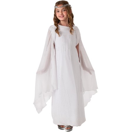 Child Girls Deluxe Lord of the Rings Hobbit Galadriel Angel Princess Elf - Lord Garmadon Costume