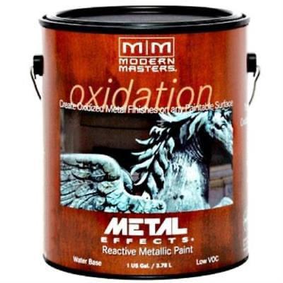 - Modern Masters Oxidizing Reactive Metal Paint - Bronze - Gallon
