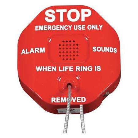 Theft Stopper - SAFETY TECHNOLOGY INTERNATIONAL STI-6210 Life Ring Theft Stopper