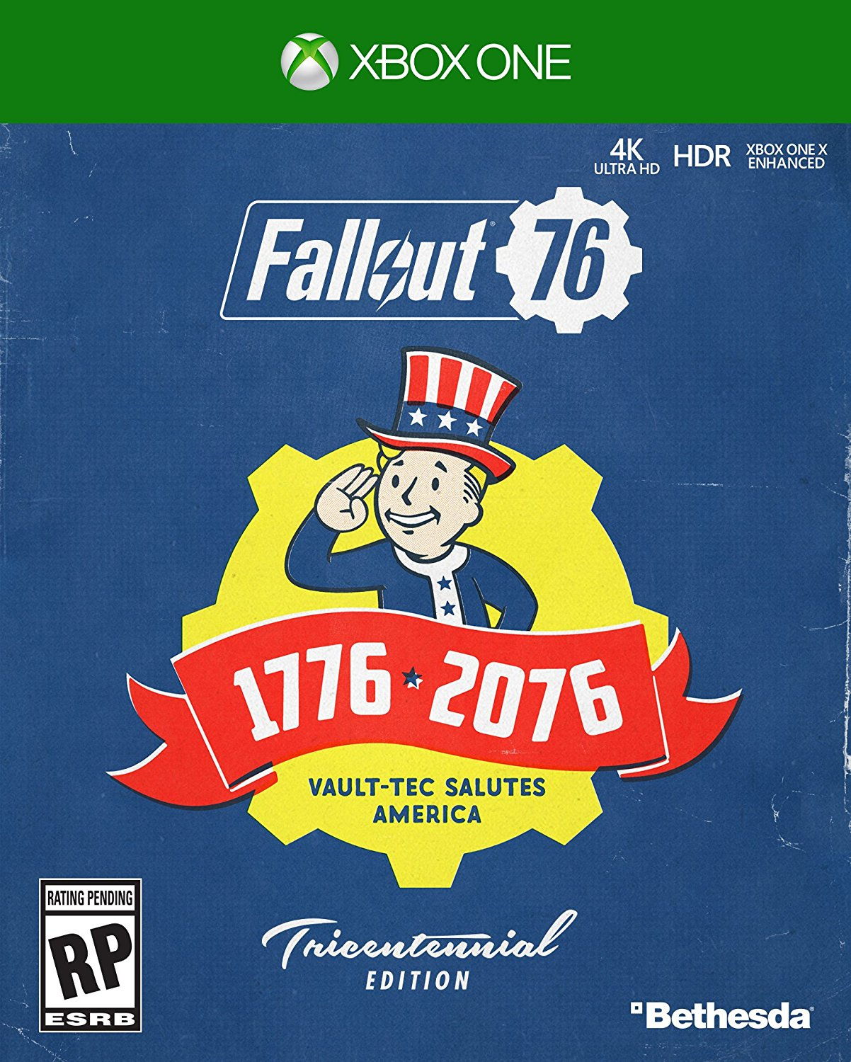 Fallout 76 Deluxe Edition, Xbox One, Bethesda, 00093155173101 by Bethesda