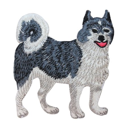 ID 2752 Alaskan Husky Dog Patch Puppy Breed Sled Embroidered Iron On - Husky Sled Dogs