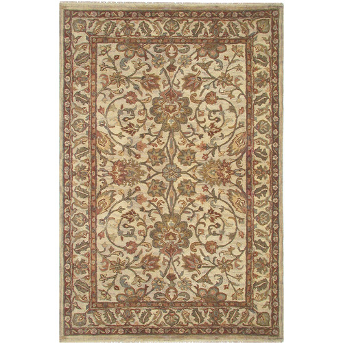 American Home Rug Co. American Home Classic Garden Esfahan Beige Area Rug