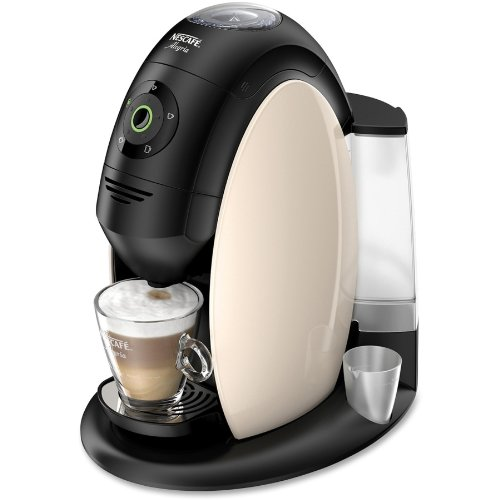 Nescafe Alegria 510 Brewer - 2.11 Quart - Black, Chrome, Cream - Plastic (nes-34341)