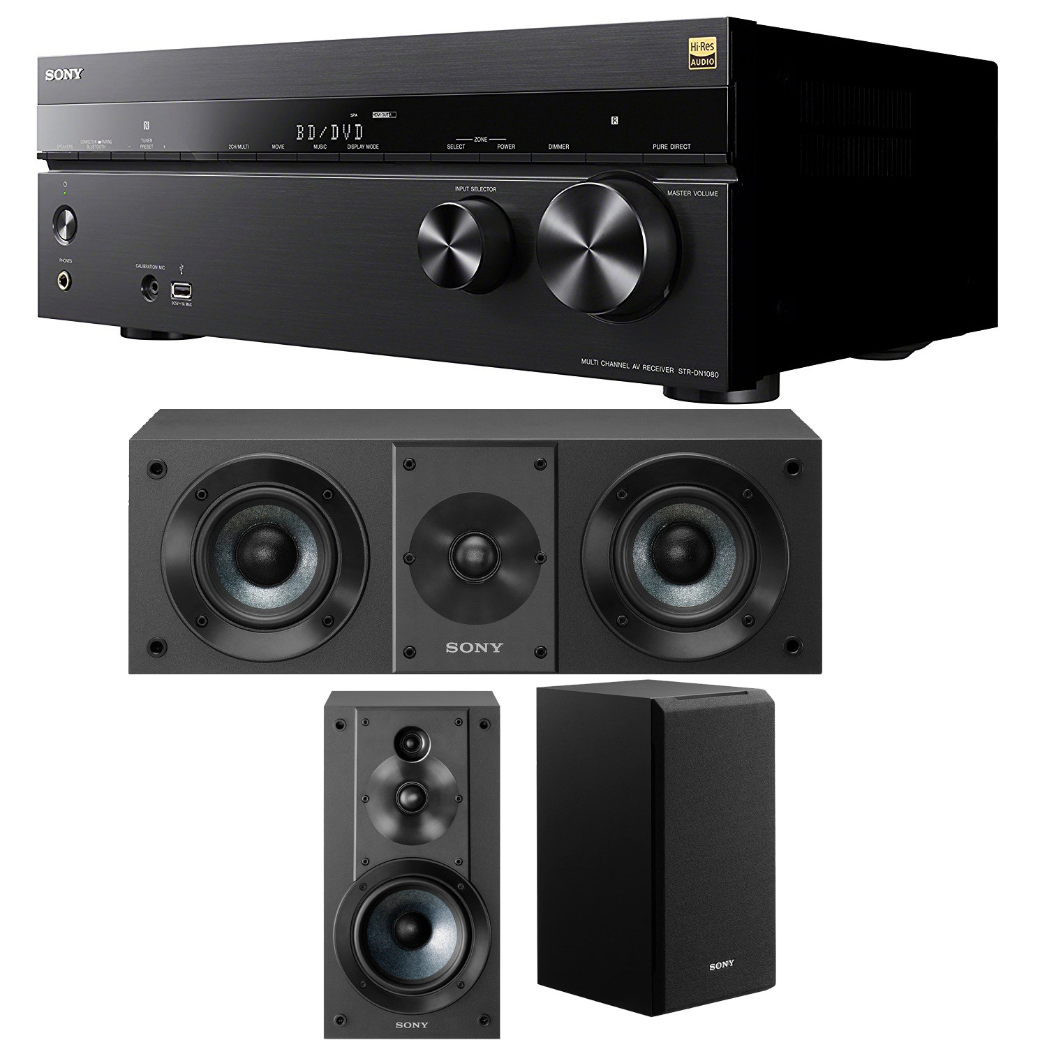 Sony 7.2 Dolby Atmos Wi-Fi Network AV Receiver Home Theat...