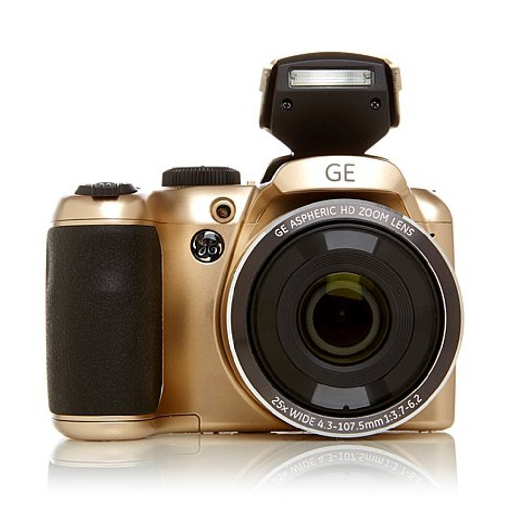 General Imaging X450 Digital Camera with 2.7-Inch LCD GE PowerPro 16MP 25X Optical Zoom HD Video SLR-Style Camera (COLOR - GOLD)