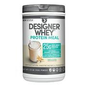 Designer Protein Whey Protein Powder, Vanilla Bean, 25g Protein, 1.72 Lb