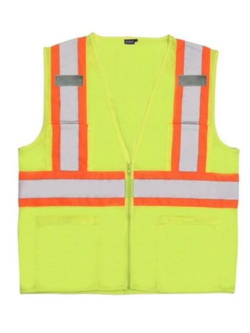 Portwest US383 4XL Augusta Sleeved Hi-Visibility Vest, Orange - Regular
