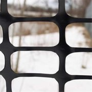 TekSupply 111533 Black Snow & Sand Fence