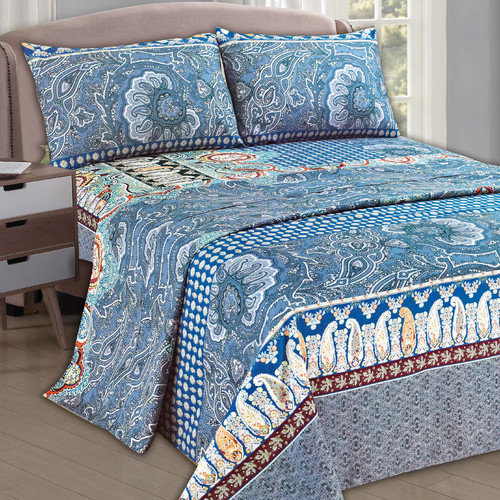 Tache Home Fashion Paisley Monarch Sheet Set