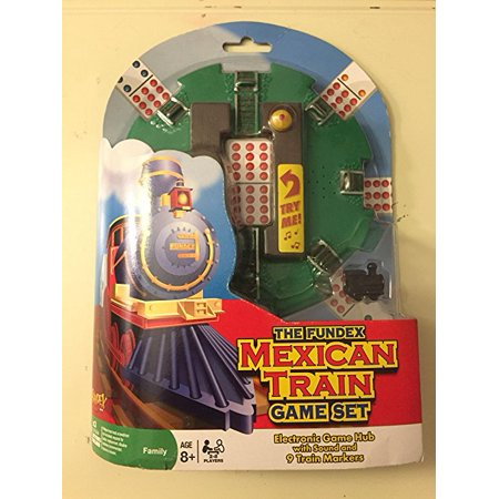 Mexican Toy - Mexican Train Game Hub - With Sound