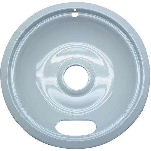 Range Kleen 1 Small Drip Bowl, Style A fits Plug-In Electric Ranges Amana/Crosley/Frigidaire/Kenmore/Maytag/Whirlpool, White Porcelain