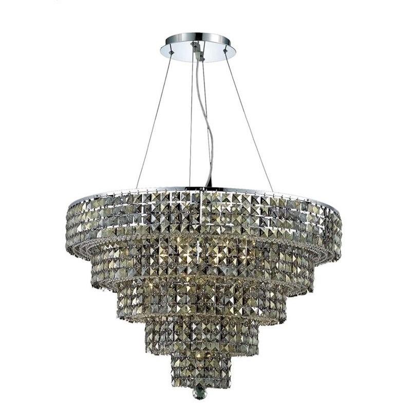 """Elegant Lighting Maxime 30"""" 17 Light Elements Crystal Chandelier - image 1 of 1"""
