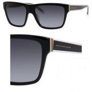Marc by MMJ 380/S 0FJC/HD Black/Gray Gradient Lens Unisex Sunglasses
