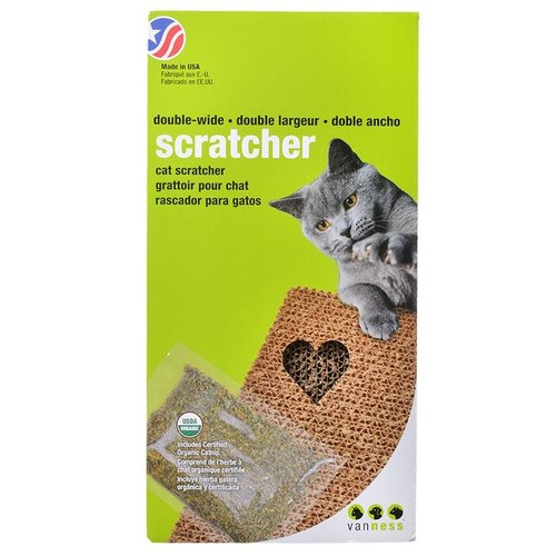 Van Ness Cat Scratch Pad Double Wide - (18.5 Inch L x 9.5 Inch W x 1.75 Inch H)