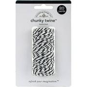 Doodlebug Monochromatic Chunky Twine, 20yd