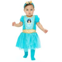 Disney Princess Jasmine Toddler Girls Costume Dress Tights & Headband Set 5T