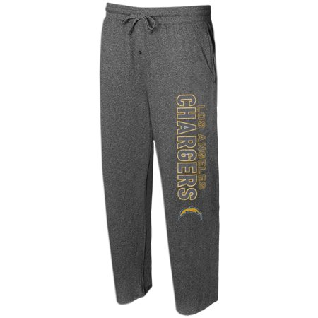 Charger Charcoal - Los Angeles Chargers Concepts Sport Quest Knit Lounge Pants - Charcoal