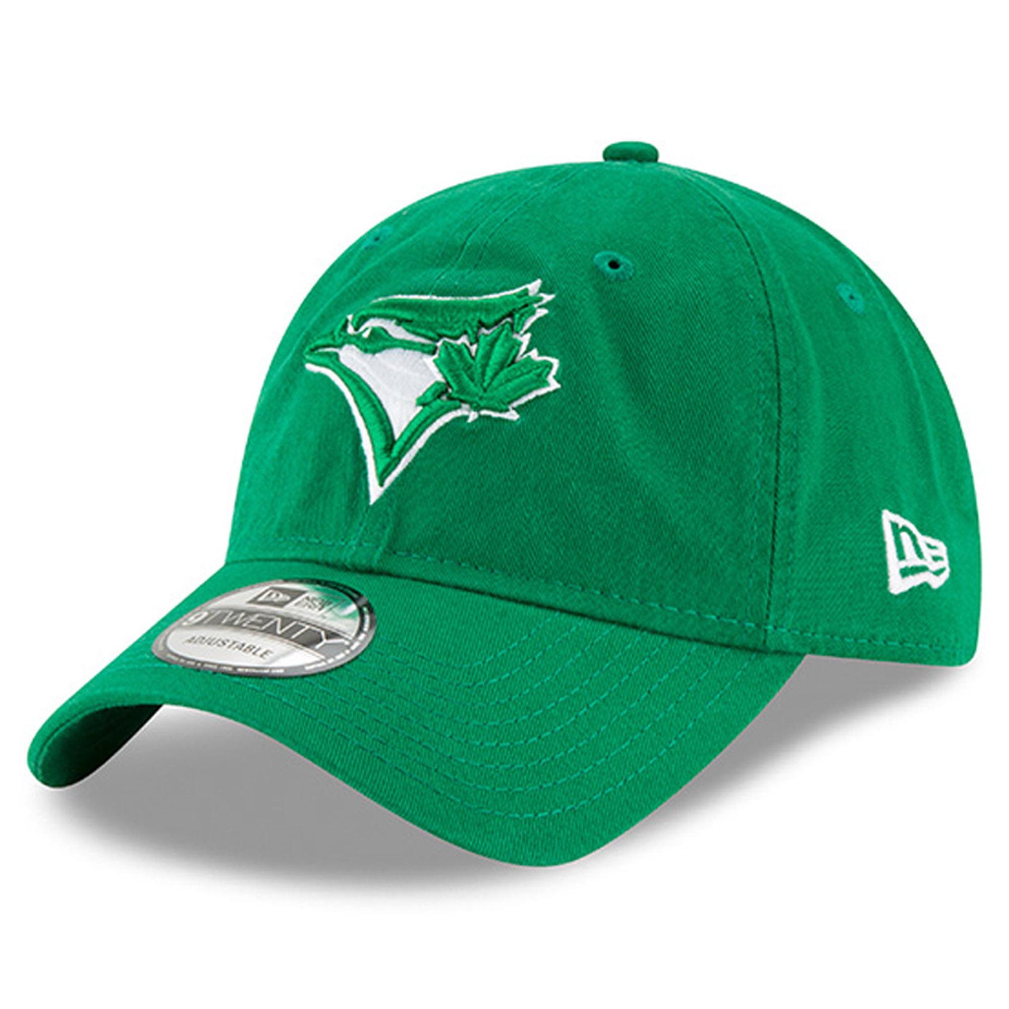 Toronto Blue Jays New Era Women's 2018 St. Patrick's Day Prolight 9TWENTY Adjustable Hat - Green - OSFA