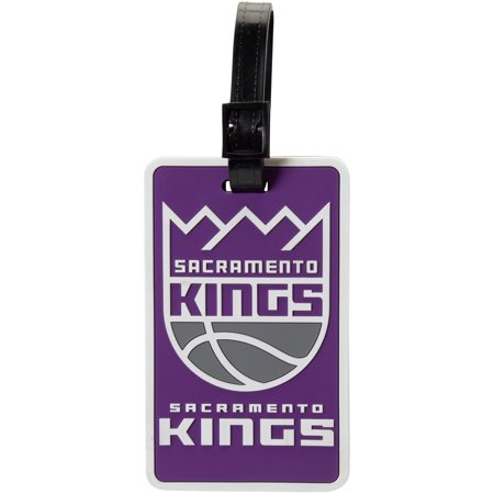 Amino USA Sacramento Kings - NBA Soft Luggage Bag Tag - Sacramento Costume Shops
