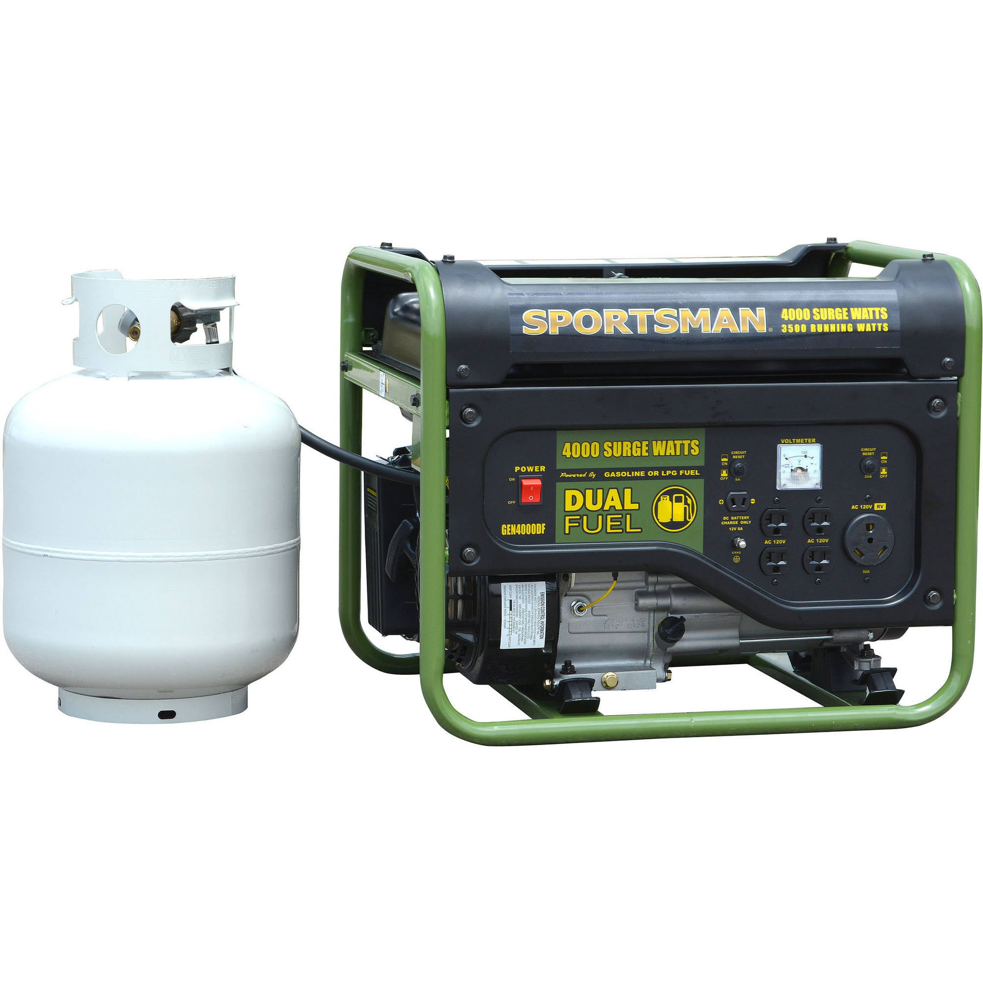 Sportsman 4000w Dual Fuel Generator Dc Shade Motors Can The Polarity Be Reversed With A Simple Switch