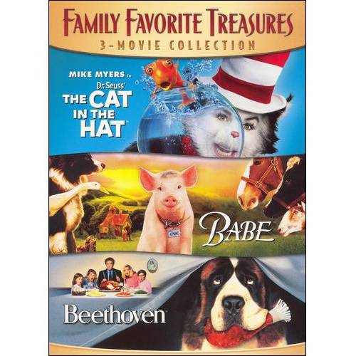 Family Favorite Treasures: The Cat In The Hat / Babe / Beethoven