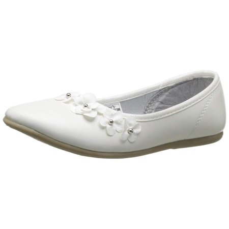 Kids Carter's Girls Angie Bungee Mary Jane Flats, White, Size 10 M Us Toddler - White Girls Flats