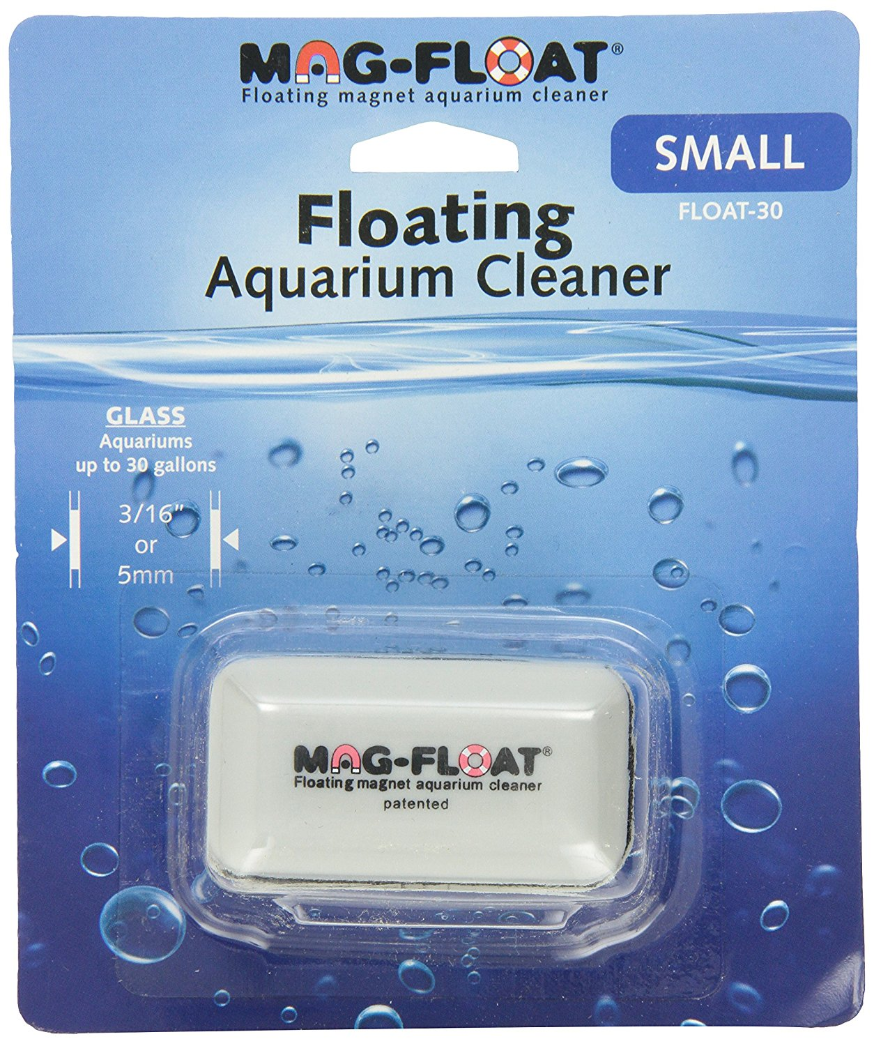 Mag-Float Glass Aquarium Cleaner in Grey by