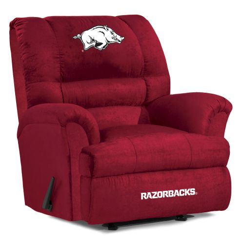 University of Arkansas Recliner - Big Daddy Microfiber