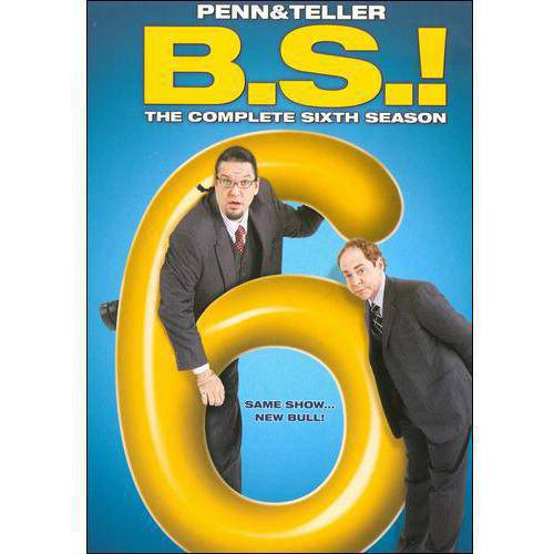 Penn & Teller: B.S! - The Complete Sixth Season (Full Frame)