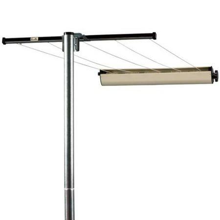Household essentials 3 piece pole with retractable clothesline - Etendoir linge retractable ...