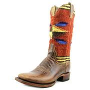 "Stetson Western Boots Womens 11"" Serape Brown 12-021-8803-0125 BR"