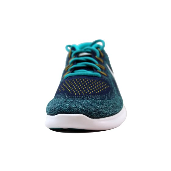 1081ae66f4b8 Nike - Nike Men s Free RN 2017 Binary Blue White-Turbo Green 880839-403 -  Walmart.com