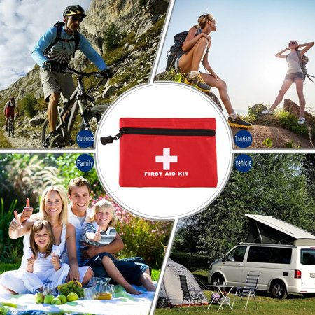 OUTAD Portable New Mini Car First Aid kits Medical Box Emergency Survival kits - image 5 of 11