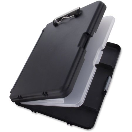 Saunders, SAU00552, WorkMate II Poly Storage Clipboard, 1 Each, Black