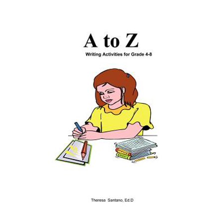 Kidtracts : A to Z Writing Activities - Middle School Writing Activities For Halloween