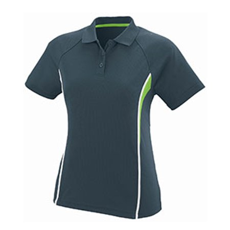 Augusta Drop Ship Ladies Wicking Polyester Mesh Sport Shirt with Contrast Inserts