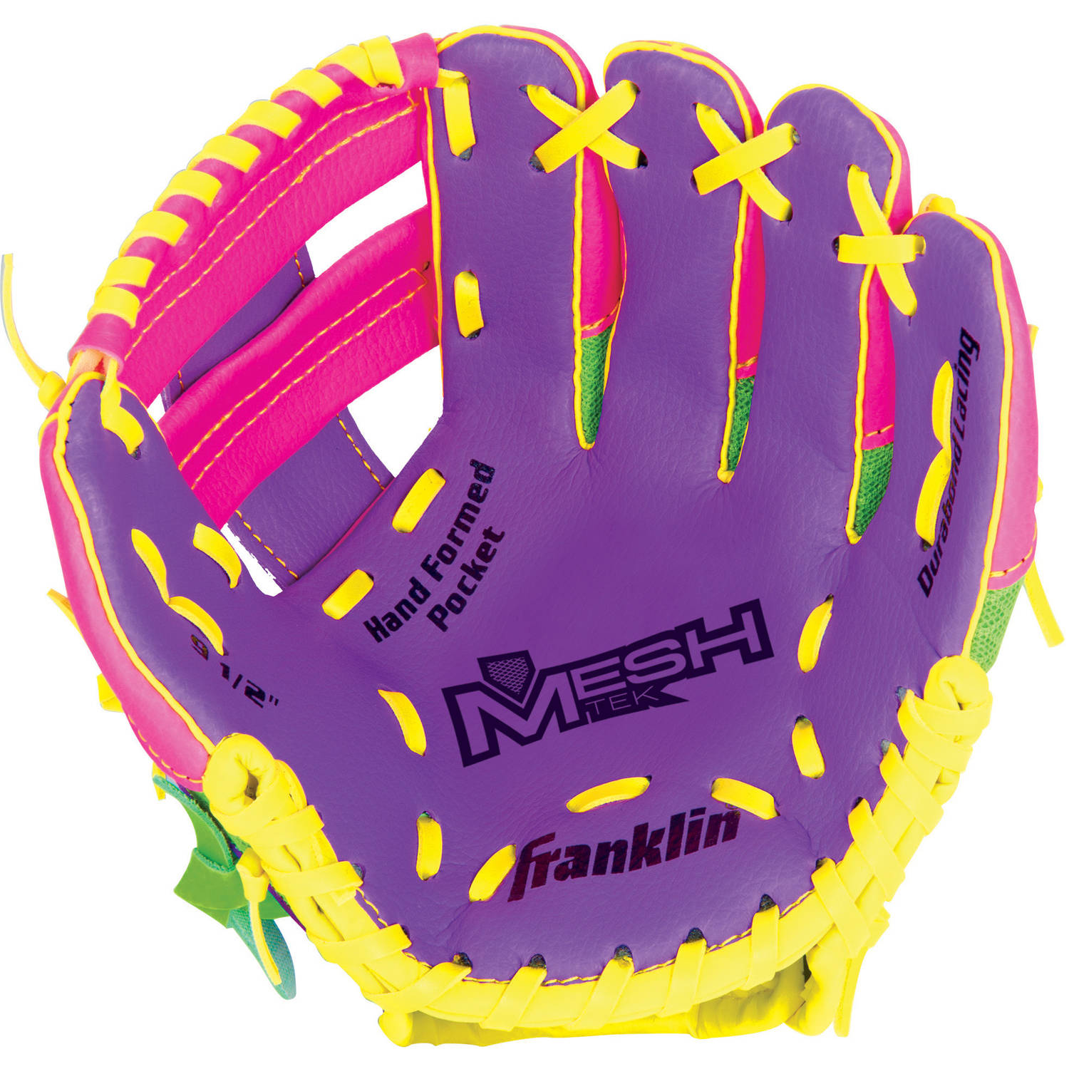 "Franklin Sports 9.5"" Teeball Meshtek Glove, Right Handed Thrower by Franklin Sports"