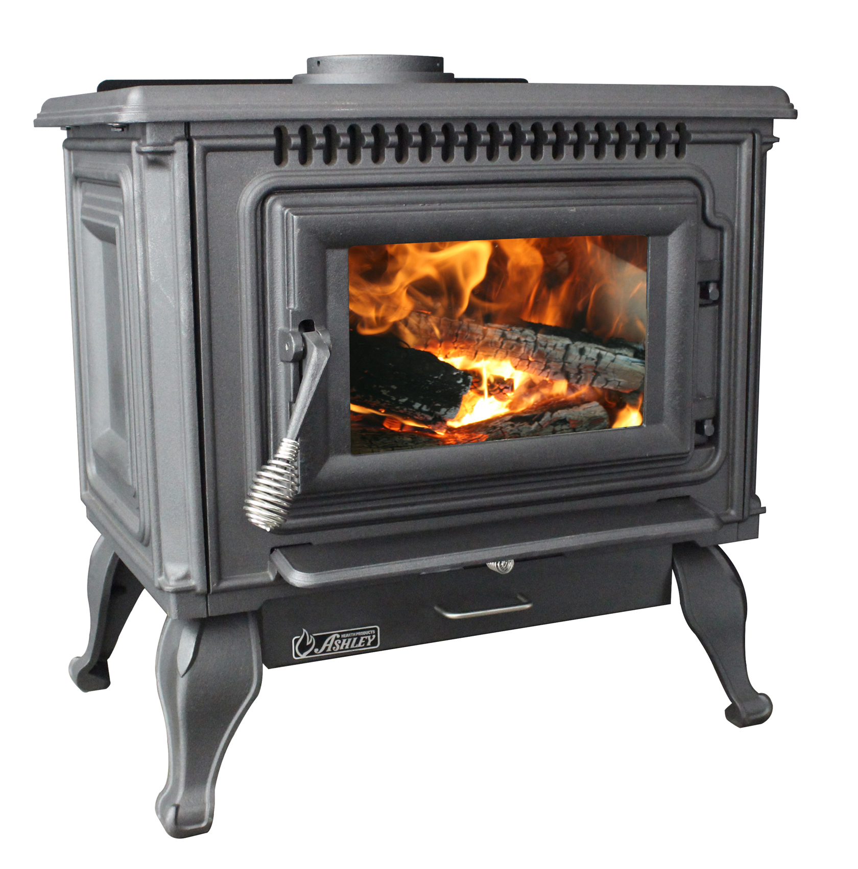 Ashley 2,000 Sq. Ft. EPA Certified Cast Iron Wood stove with Blower