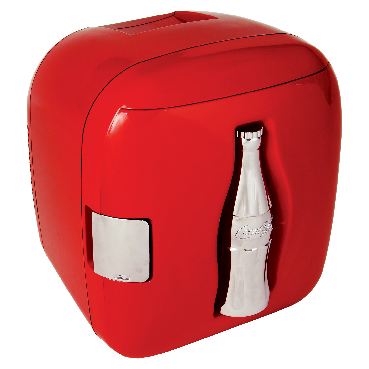 Koolatron Coca-Cola 12 can Compact Electric Cooler 110 V & 12V CCU09, Red Heritage Can Design