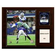 "C & I Collectables NFL 12"" x 15"" Ezekiel Elliott Dallas Cowboys Player Plaque"