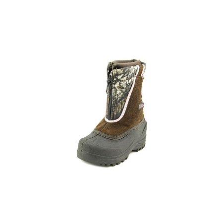 (Itasca Snow Stomper   Round Toe Suede  Snow Boot)