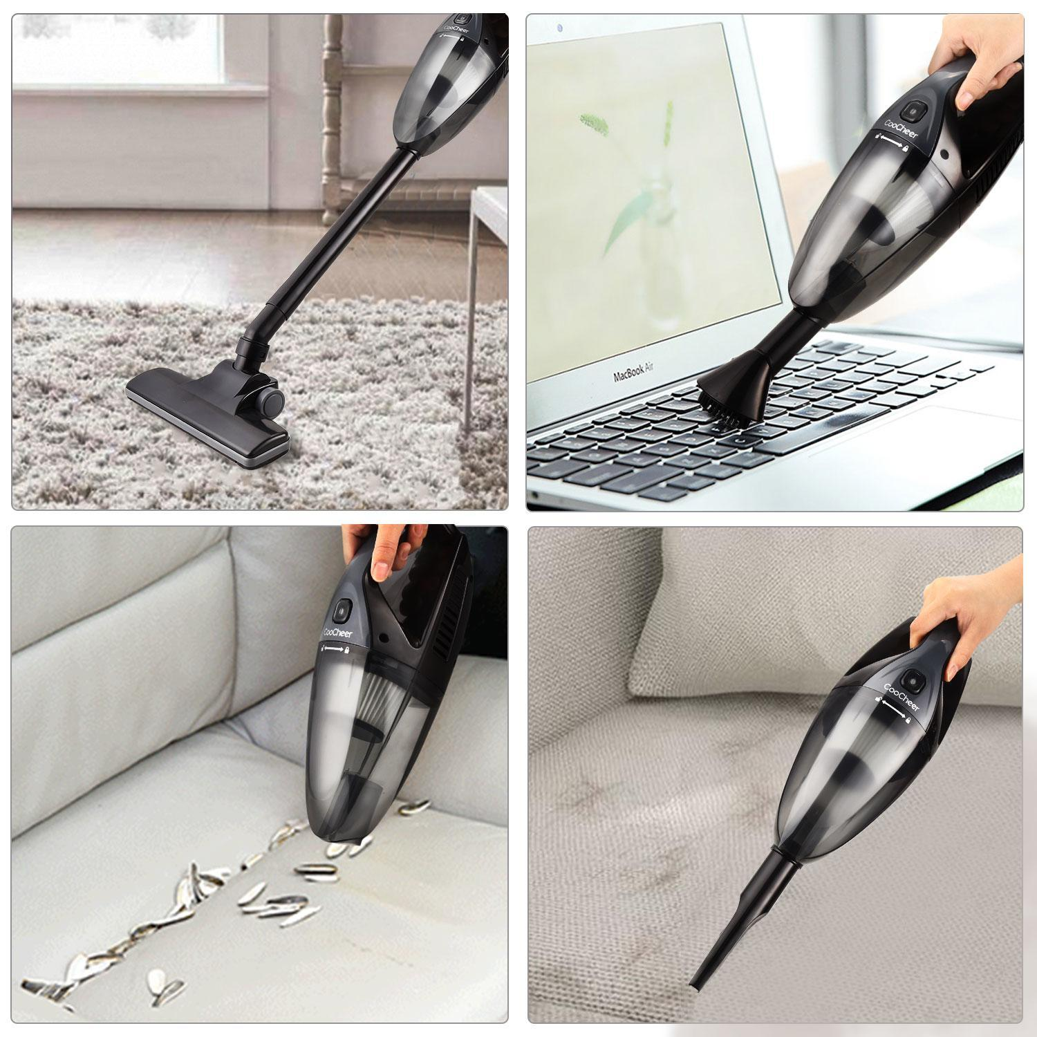 Portable Cordless Handheld Vacuum Cleaner Dustbuster for Home Office Auto Car 005196 SPTE