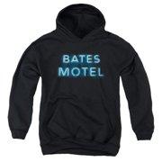 Bates Motel Sign Logo Big Boys Pullover Hoodie